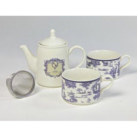 "Ceainic cu doua cani ""Tea for Two"""