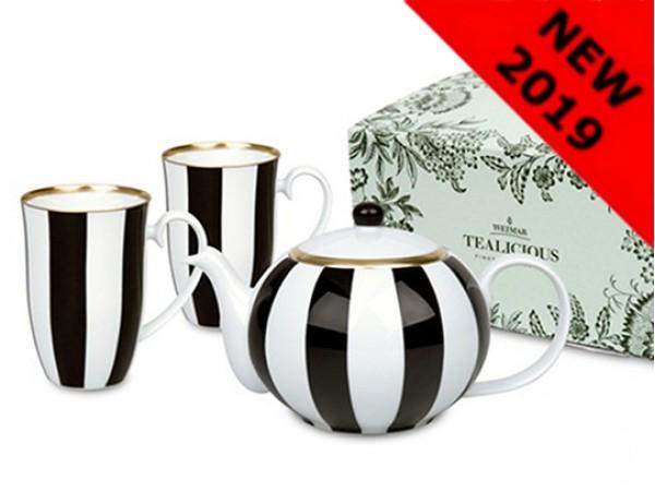 """Set pentru ceai """"English Stripes"""" 0.9L"""