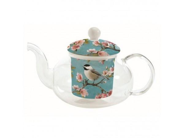 """Ceainic de Sticla cu infuzor ceramic """"Birdie"""""""