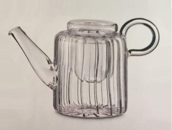 Ceainic Sticla Termorezistenta Diamond 0.5L
