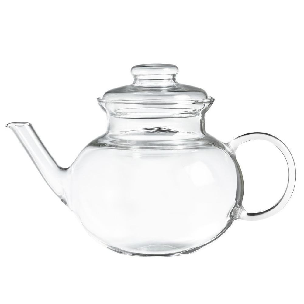 Ceainic Sticla Termorezistenta Lotus 1L