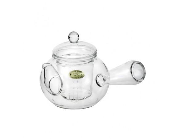 Ceainic de sticla Yokode Kyusu Ole 0.6L