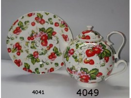 Tea for One Portelan Colectia Strawberry