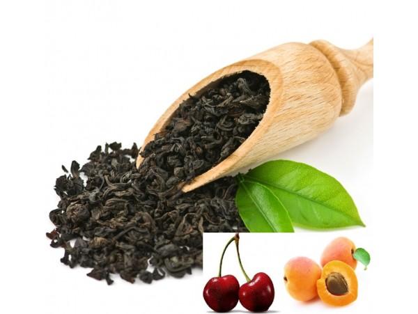 Ceai Negru cu Caise si Cirese