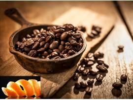 Cafea Aromata cu Ulei Natural de Coaja de Portocale