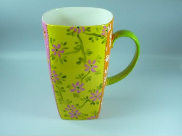 Cana Handpainted Colectia Flower Patchwork - Tibet