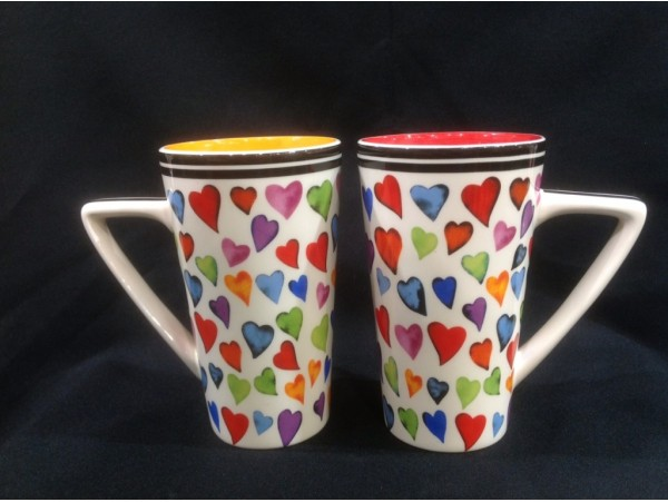 Cana Inalta Colectia Inimi Multicolore