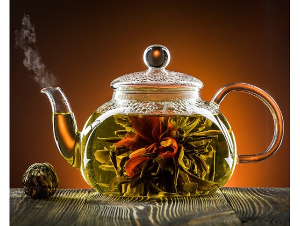 """Ceai Verde Blooming """"I Guan Yin Zuo Lian"""""""