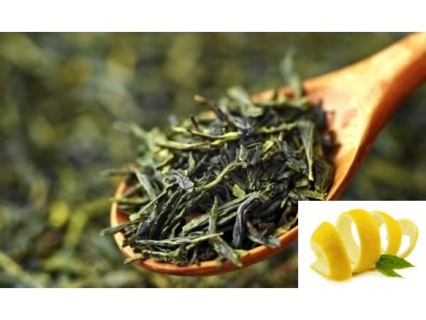 Ceai Verde Gunpowder cu Lamaie