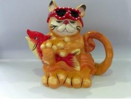 Ceainic Colectia Fishing Cat
