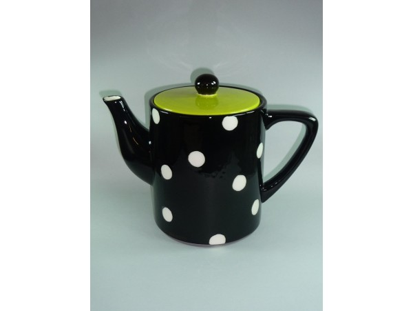 Ceainic Colectia Black and White Dots 1.8L