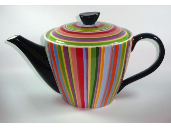 Ceainic Colectia Ceramica in Dungi Colorate 1.8L