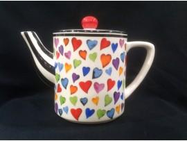 Ceainic Colectia Inimi Multicolore 1.8L