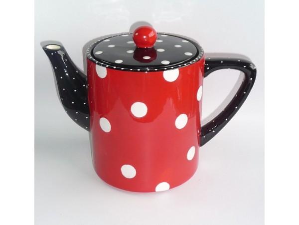 Ceainic Colectia Rosu cu Buline