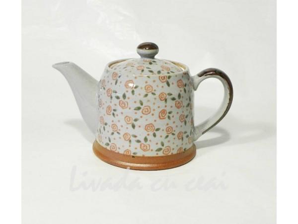 Ceainic Japonez manufacturat din Ceramica