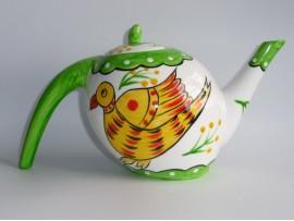 Ceainic Handpainted Colectia Bird and Elephant - Japan