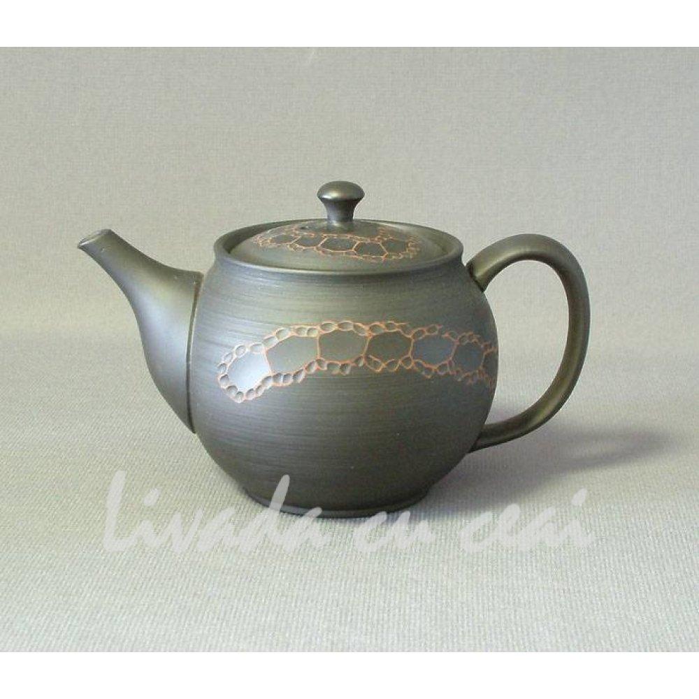 Ceainic Japonez din Lut