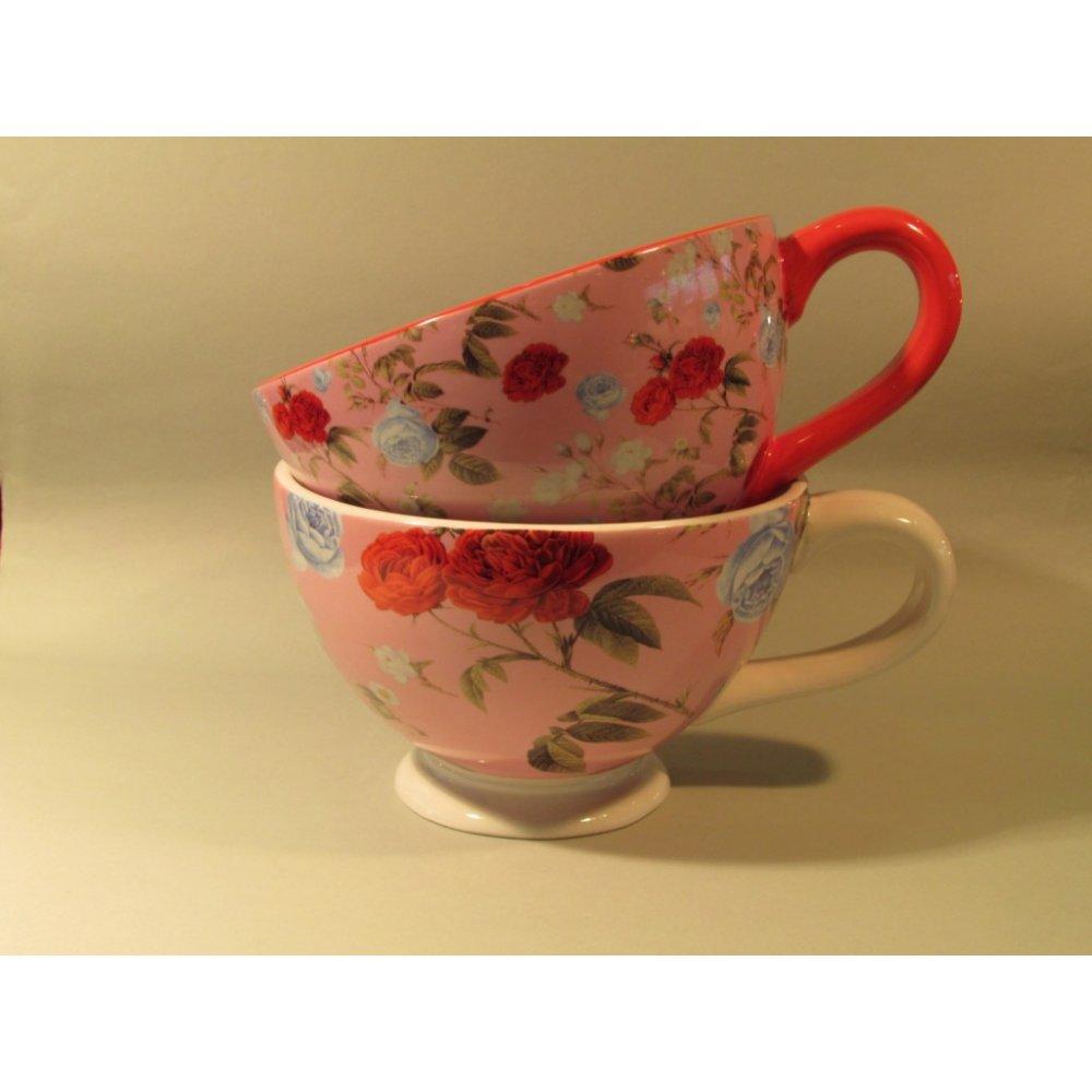 Ceasca Mare Colectia Trandafiri Roz