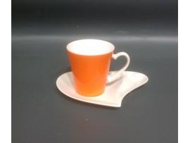 Cescuta cu farfurioara Colectia Orange
