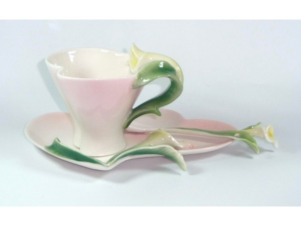 Cescuta Cu Farfurioara Colectia White Orchid