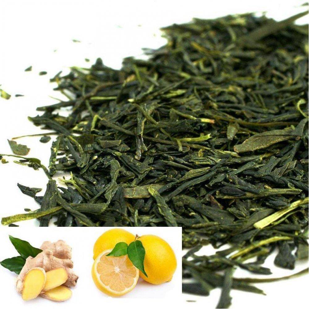 Ceai Verde Ginger Lemon