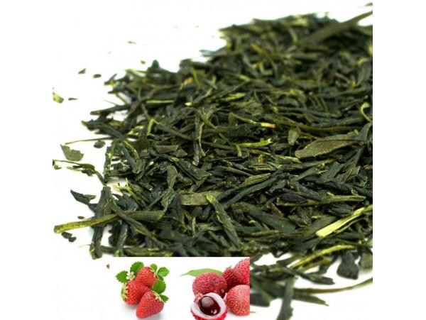 Ceai Verde cu Capsuna si Lychee