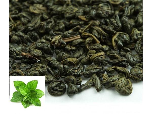 Ceai Verde Gunpowder Mentolat
