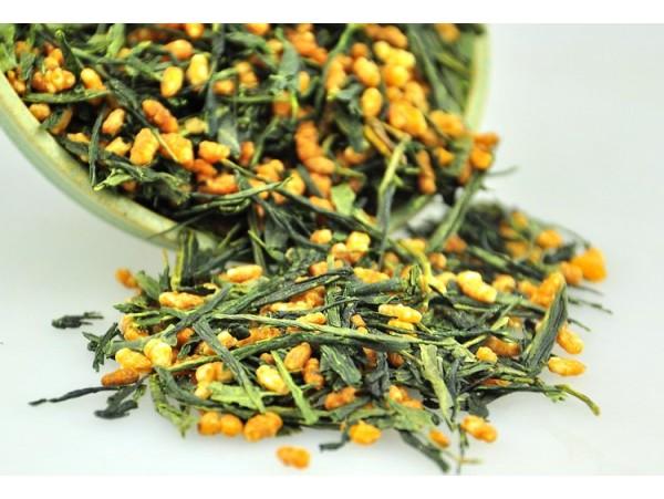 Ceai Verde Japonez Genmaicha Organic