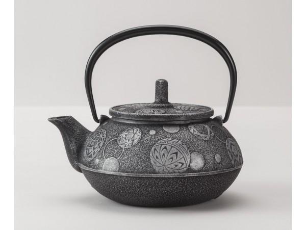 Ceainic din Fonta Komari Gri 0.65L