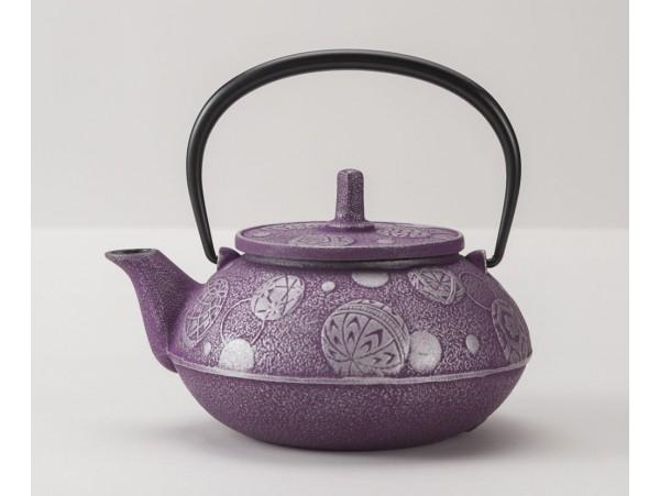 Ceainic din Fonta Komari Violet 0.65L