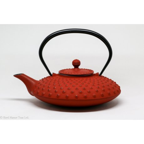 Ceainic din Fonta 0.8L Rosu