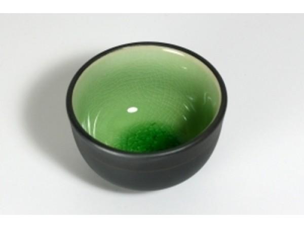 Cupa pentru Ceai lucrata manual Celadon Verde