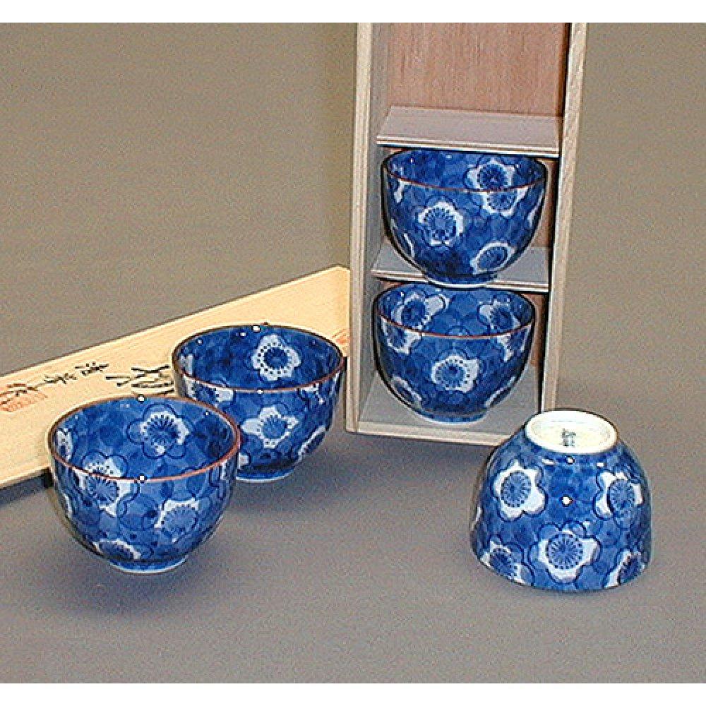 Set 5 Cupe Ceai lucrate Manual
