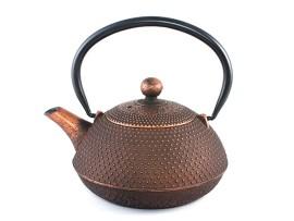 Ceainic din Fonta Arare Brown 0.55L
