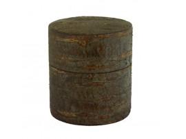 Cutie pentru Ceai din Coaja de Cires Antichizata