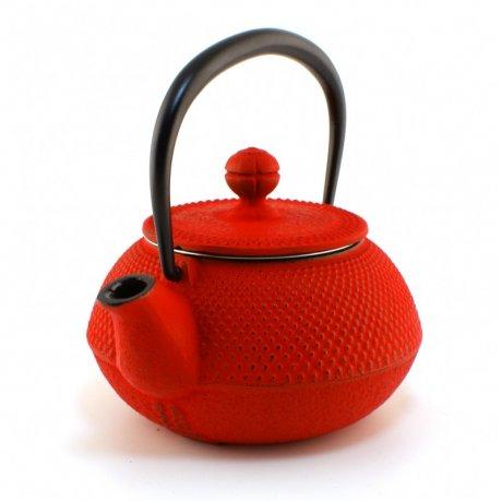 Ceainic din Fonta Arare 0.65 L Rosu