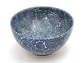 Bol ceramic Japonez Lucrat Manual