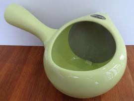 Ceainic Japonez Yokode Kyusu Portelan verde