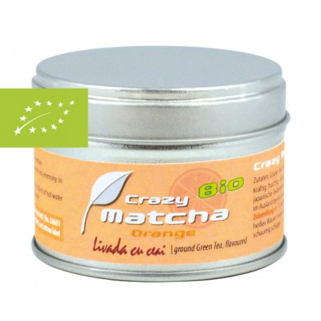 Ceai Verde Crazy Matcha cu Portocale
