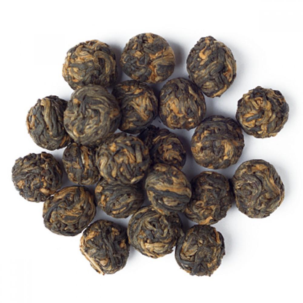 Ceai negru Black Dragon Pearls
