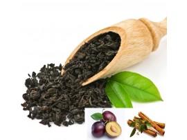 Ceai Negru Prune cu Scortisoara