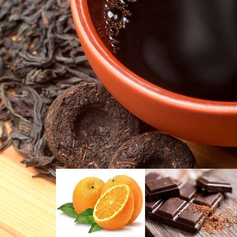 Ceai Pu Erh cu Ciocolata si Portocale