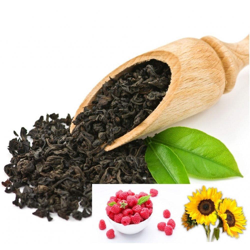 Ceai Negru Raspberry - Maracuya