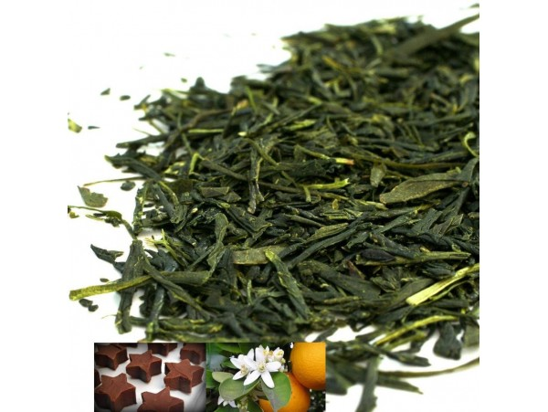 Ceai Verde Sencha Chocolate Stars
