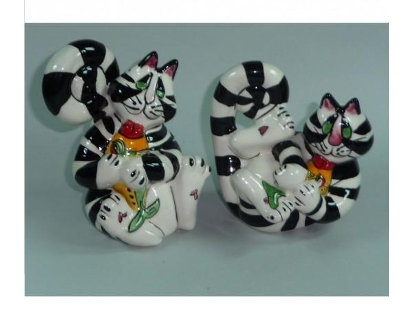 Solnita si Pipernita Colectia Lazy Cats