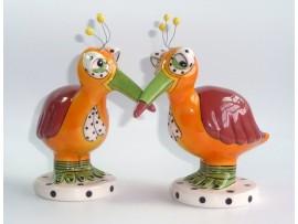 Solnita si Pipernita Colectia Strange Bird