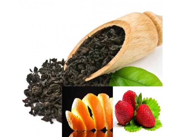 Ceai Negru Capsuna si Portocala