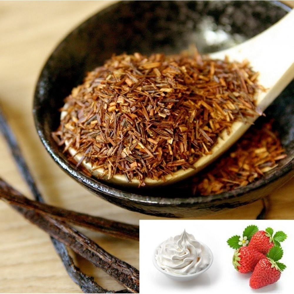Ceai Rooibos Strawberry with Cream