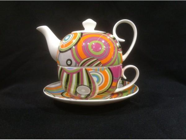 Tea For One Colectia Cercuri Colorate