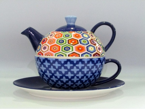 Tea For One Colectia Diamante si Rame Colorate